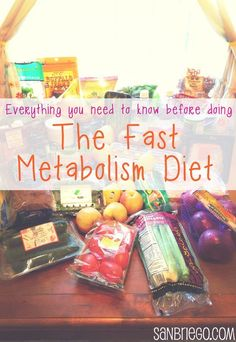 Everything You Need to Know Before Doing The Fast Metabolism Diet ... great prep list and insight!