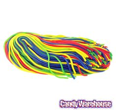 Just found Rainbow Licorice Laces CrEATables Candy Strings: 2LB Bag @CandyWarehouse, Thanks for the #CandyAssist!