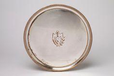 A Sheffield Silver Salver, 18th Century