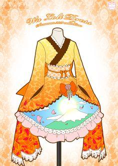 Wa Loli Dress by *Neko-Vi on deviantART