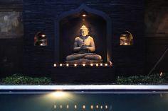 Arjuna Villa, Tanah Lot, Bali - Pool By Night