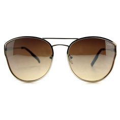 Quay Australia Cherry Bomb Sunglasses in Gold