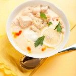 Lemon Chicken Soup:  You will not believe how quick this soup is to make when it tastes like it has been simmering for hours. It is an easy weekday family favorite.