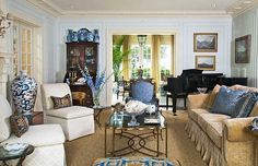 Pretty Color for an Architectural Classic | Traditional Home
