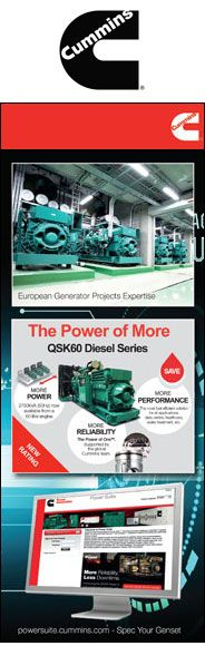Cummins has strong distribution across Europe, providing turnkey solutions including the sale of new engines, generator sets, installation and commissioning services.