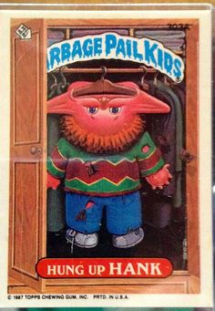 1987 Topps Garbage Pail Kids Trading Card 303a by LEATHERGLACIER, $2.00