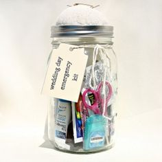 Buy or create an emergency kit for the wedding day