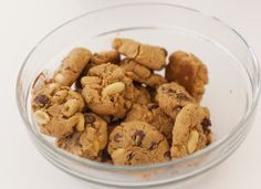 Gluten-Free Peanut Butter and Chocolate Cookies, Wholeliving.com #lunchbunch