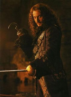 Jason Isaacs as Hook from 'Peter Pan'.