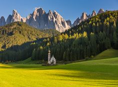"""Santa Maddalena and Chapel"" by Hans Kruse, via 500px."