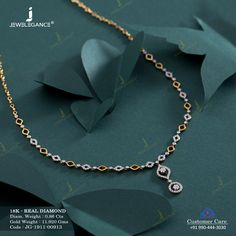 Real Diamond Necklace jewellery for Women by jewelegance. ✔ Certified Hallmark Premium Gold Jewellery At Best Price Diamond Necklace Simple, Gold Jewelry Simple, Diamond Jewelry, Diamond Studs, Gold Necklace, Gold Ring Designs, Gold Jewellery Design, Silver Jewellery Indian, Necklace Designs