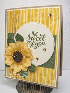 It's a Stamp Thing: Sweet Sunday......so sweet of you - SU - Beautiful Bunch, Hello There