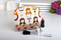 Schminktäschchen - Kosmetiktasche - ein Designerstück von julejuch bei DaWanda