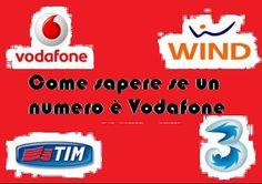 UNIVERSO NOKIA: Come sapere se un numero è Vodafone