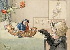 "CARL LARSSON 1853-1919, ""Den lustiga gubben"""