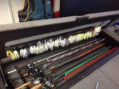 How do yall organize your soft plastics in your boat? | Bass Fishing | Texas Fishing Forum #FlyFishing #fishingboats