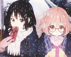 kyoukai no kanata animes my nase mitsuki kuriyama mirai
