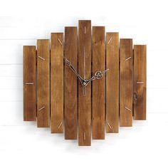 Стенният часовник PALADIN притежава изчистен и стилен дизайн. Освен, че е красив е и безшумен. Това го прави много подходящ акцент както за офиса, така за дома. Размерът му е 30/30 см и му трябва само една обикновена батерия AA, 1.5V. Часовникът може да бъде обработен с два цвята байц за дърво. Харесания от Вас [...]