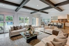 Transitional | Meridith Baer Home | Home Staging - Liked @ Homescapes Home Staging www.homescapes-sd.com #contemporarylivingroom