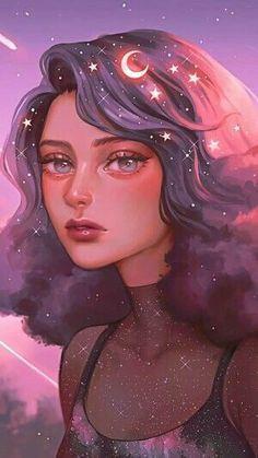 Girly Drawings, Anime Girl Drawings, Anime Art Girl, Dibujos Tumblr A Color, Cartoon Girl Drawing, Anime Scenery Wallpaper, Digital Art Girl, Cartoon Art Styles, Aesthetic Anime