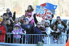 Patriots fans gathered on Sunday, January 29 at Gillette Stadium for a Super Bowl XLVI send-off rally. Superbowl Champions, Fan Signs, Gillette Stadium, Patriots Fans, Media Center, New England Patriots, Rally, Photo Galleries