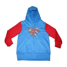 DC Comics Superman Toddler Full Zipper Hoodie 24 Months * You can get more details by clicking on the image.