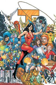 New Teen Titans: Who is Donna Troy Comic Book Artists, Comic Artist, Comic Books Art, The New Teen Titans, Original Teen Titans, Superman, Batman, Hq Marvel, Marvel Dc Comics