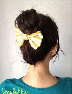 P.A.P.: Penteado com trança -D.I.Y.: Braided hairstyle