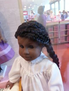 Beautiful American Girl Doll Addy at the Dallas Store.