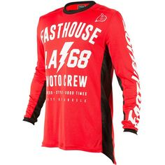 8f40a891d Fasthouse 2018 L1 LA 68 Red Jersey at MXstore