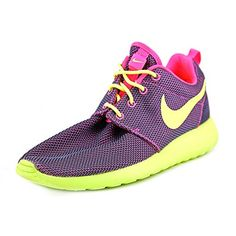 c4a58572d1d3cd Special Offers - Nike Roshe Run Pink Womens Trainers 6.5 US - In stock  amp