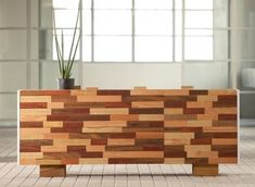 Gorgeous recycled desk from Kann Design