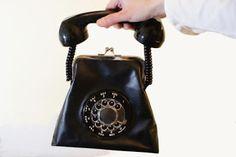 Binnenkant : De telefoon-tas!