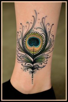 71 Incredible Small and Tiny Tattoos that Would Pull You to Get Inked Right Now - Mind-blowing Small Peacock Feather Tattoo You are in the right place about 71 Incredible Small and T - Rare Tattoos, Modern Tattoos, Girly Tattoos, Trendy Tattoos, Body Art Tattoos, New Tattoos, Small Tattoos, Tattoos For Women, Tatoos