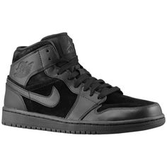 a3b61019d54e A visual statement  the new Air Jordan 1 Mid Black Black. Find out all the  details about this all black version of the classic.