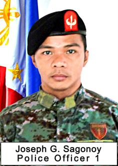 PO1 Joseph Gumatay Sagonoy __ #Fallen44 .. Nothing but a broken heart 01-30-15