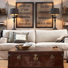 Havens South Designs Loves This Cozy Roach To Symmetry Living Area