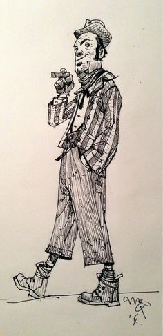 Haven't done a Dickens Doodle for a while. Artful Dodger type geezer: pic.twitter.com/OfL4qDN1zC