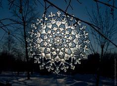 Fused Glass Sun Catcher PATTERN