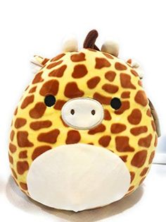 Squishmallow Plush Animal Pillow Pet (Gary The Giraffe) * Read more at the im. Squishmallow Plush Animal Pillow Pet (Gary The Giraffe) * Read more at the image link. (This is an affiliate link). Giraffe Decor, Grey Dog, Cute Stuffed Animals, Majestic Animals, Cute Pillows, Cute Plush, Cute Little Animals, Cute Toys, Animal Pillows