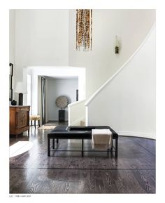 interiors - February/March 2015 - interesting option for coffee table as well