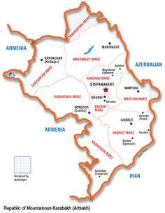 Stepanakert, capital de la República de Nagorno-Karabaj (NKR) y el centro cultural de la ciudad de Shushi, se incluyeron finalmente en Google Earth.