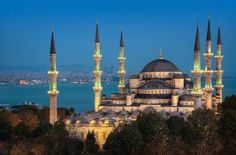 Sultan Ahmed Mosque And The Sea, İstanbul, Turkey ,By Alika