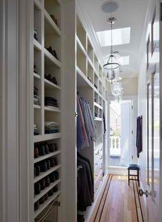 Hallway as Dressing Room!