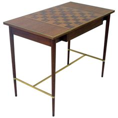 Paul McCobb Game Table, circa 1950s   From a unique collection of antique and modern desks at https://www.1stdibs.com/furniture/storage-case-pieces/desks/