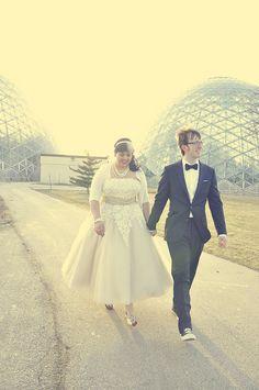 Plus size wedding dress Plus Size Brides, Plus Size Wedding, Wedding Looks, Dream Wedding, Wedding Stuff, 50s Wedding, Wedding Venues, Custom Wedding Dress, Wedding Dresses