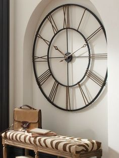 Our Postema Wall Clock will create an impression — big time.