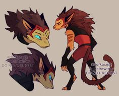 wuff : more beast!catra bc I couldn't let go of this. Character Concept, Character Art, Arte Aries, Cartoon Fan, Fanart, She Ra Princess Of Power, Anthro Furry, Centaur, You Draw
