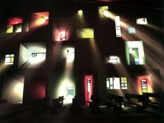 Chapelle Notre-Dame du Haut by Le Corbusier, Ronchamp, France use of light Sacred Architecture, Religious Architecture, Light Architecture, Contemporary Architecture, Architecture Details, Landscape Architecture, Interior Architecture, Interior And Exterior, Chinese Architecture