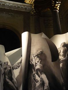 Extases - Chapelle Saint-Charles - Avignon 2008 by Ernest Pignon-Ernest